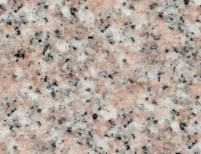 Light pink granite countertop