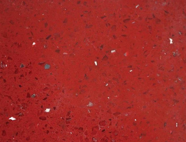 Starry Red Quartz Countertop